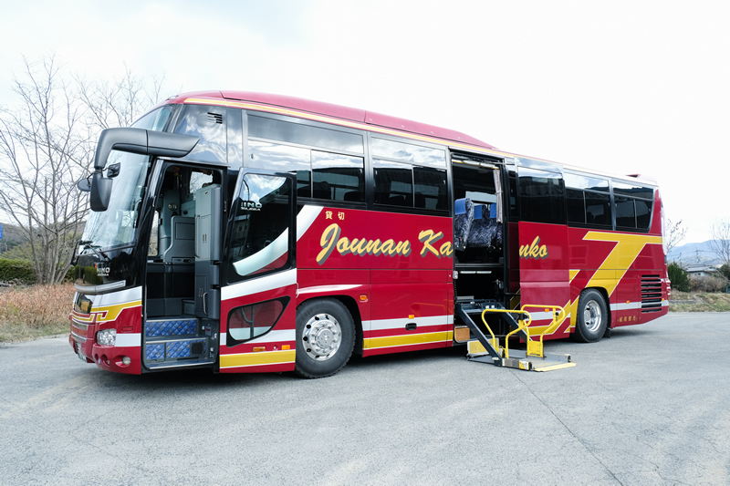 Large size bus(with wheelchair access)