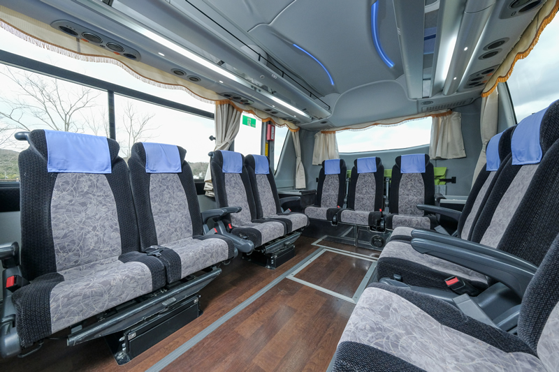 Medium size Saloon Bus